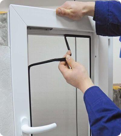 замена уплотнителя на окнах в Ногинске